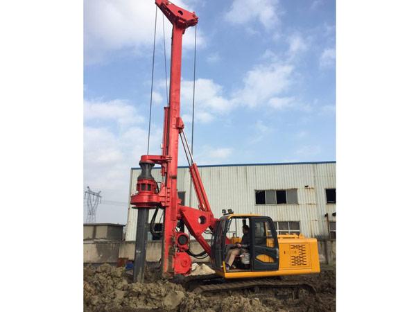 西安旋挖钻机租赁工程施工案例