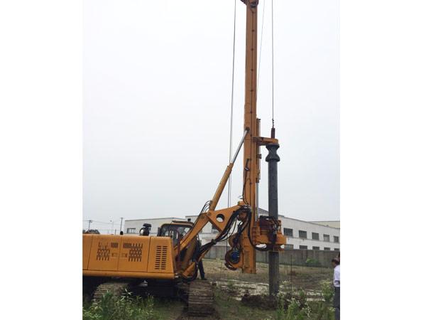 成都旋挖钻机租赁工程施工案例
