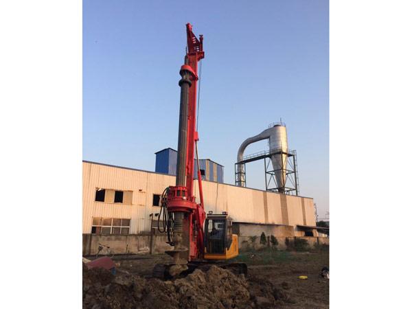 山西旋挖钻机出租施工工程案例