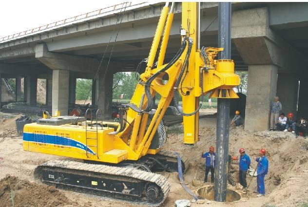 新疆旋挖钻机租赁高速公路工程施工案例