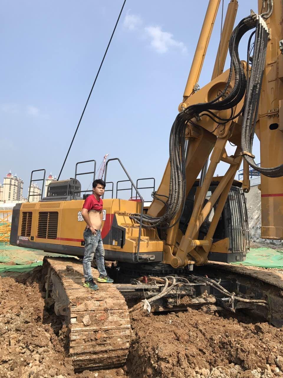 贵州桩基工程旋挖钻机租赁施工案例