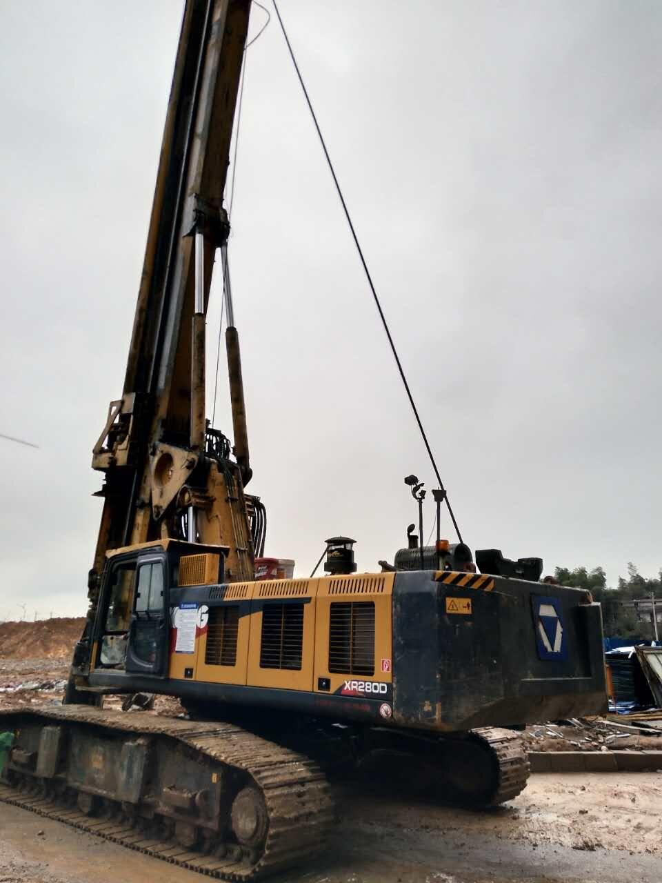四川地铁施工旋挖钻机打桩案例