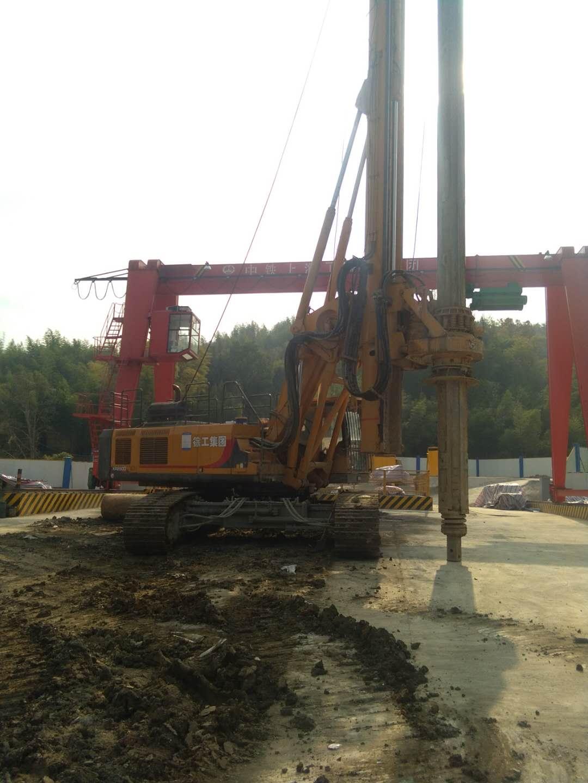 南京无限达杭州地铁施工旋挖钻机打桩案例
