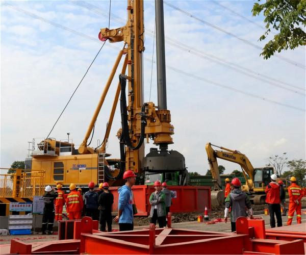 徐工旋挖钻机在高铁桩基础施工中的应用案例